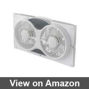 window fan for wide windows