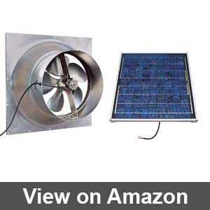 solar powered attic fans costco