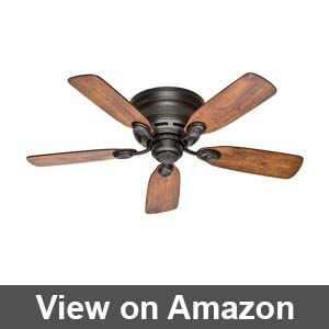 hunter flush mount ceiling fans