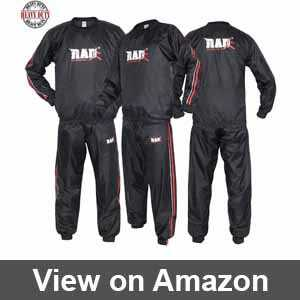 gold's gym sauna suit