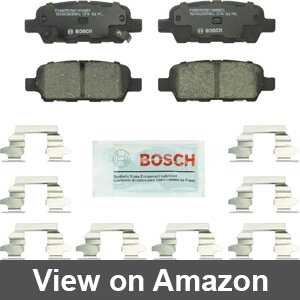 Font Premium Posi Ceramic Disc Brake Pad Set for Fiat 500L New