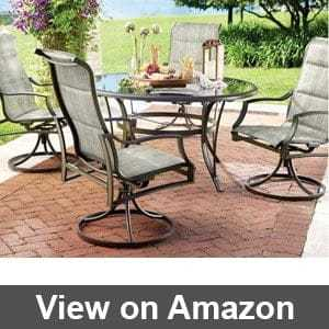 White Outdoor Dining Table