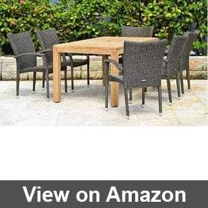 Folding Outdoor Dining Table
