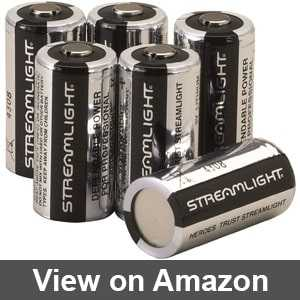 Streamlight batteries cr123a