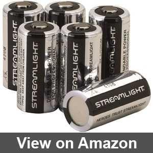 Streamlight batteries cr123a