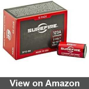 cr123a battery amazon
