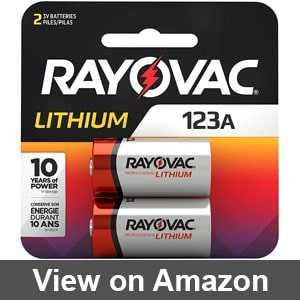 Best cr123a battery amazon