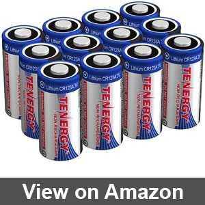Best cr123a 3v battery