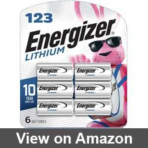 cr123a battery energizer