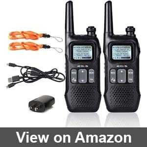 Best walkie talkies for cruise ships