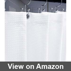 Best farmhouse bathroom shower curtain