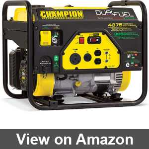 Best champion dual fuel inverter generator