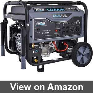 Best generator dual fuel