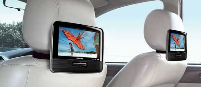 Best Dual Screen Portable DVD Player for Car in 2021
